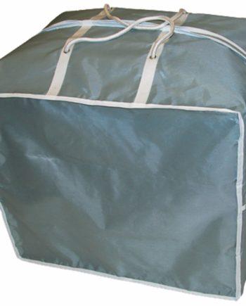 eurotrail draagtas zitkussens polyester 60 x 50 x 50 grijs
