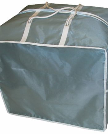 eurotrail draagtas loungekussens polyester 90 x 90 x 60 grijs